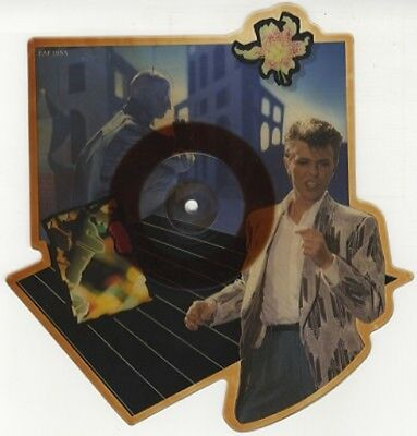 "David Bowie, Loving The Alien, NEW* Limited SHAPED PICTURE DISC 7"" vinyl single"