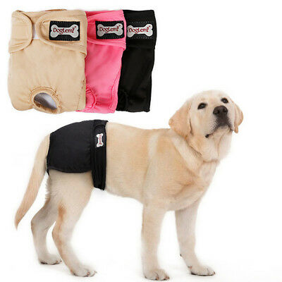 Dog Sanitary Nappy Diaper Pet Physiological Pants Short Underwear For Dogs XS-XL