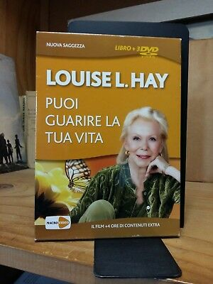 Louise Hay - PUOI GUARIRE LA TUA VITA - Libro + 3 DVD Video - 2011