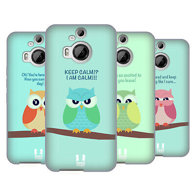 Head Case Designs Mean Owls Soft Gel Case For Htc Phones 2