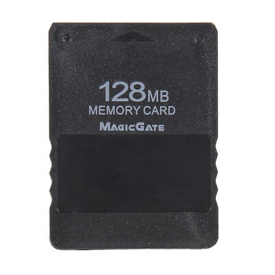 128MB 128M Memory Card Save Game Data Stick for Sony Playstation 2 PS2 Black