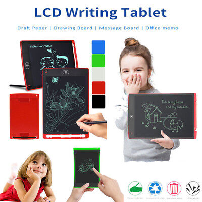 4.4/8.5/12 Inch LCD Writing Drawing Tablet Electronic Graphics Notepad E-Writer