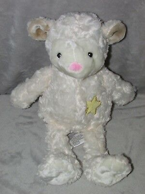 Costco Little Miracles Lamb Soft Toy Cream White Star Sheep Comforter Doudou