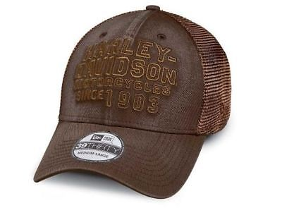 Brand New and Genuine Men's Harley Davidson 39THIRTYCAP