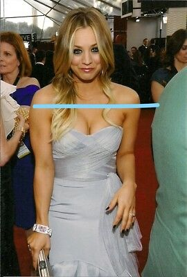 KALEY CUOCO, schönes Foto, ca.10x15cm, OHNE Autogramm, The Big Bang Theory (b)