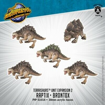 Monsterpocalypse: Terrasaurs: Raptix & Brontox PIP 51018
