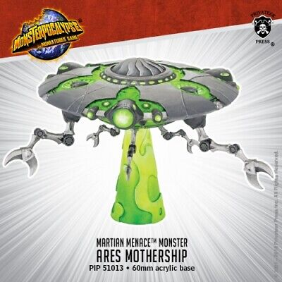 Monsterpocalypse: Martian Menace: Ares Mothership Free Shipping on 12/21