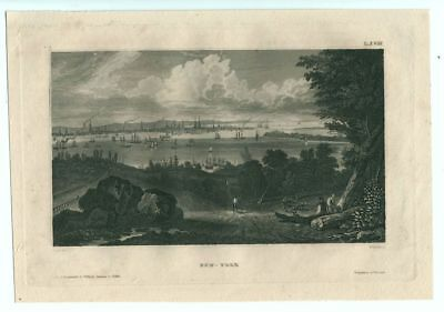 New York, Stahlstich ca. 1860