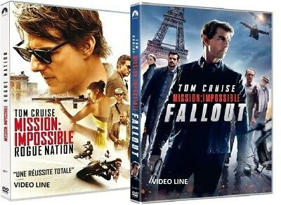 Dvd Mission Impossible : Rogue Nation / Mission: Impossible - Fallout (2 DVD)
