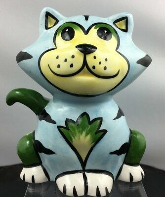 Lovely Rare Signed Lorna Bailey Dexter Cat Figurine Made In England SU223