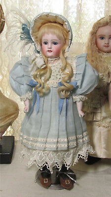 Antique Kestner doll early 1885 beauty unique face display ready