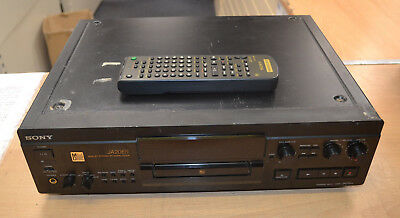 Sony MDS-JA20ES Mini Disc Player Recorder With Remote