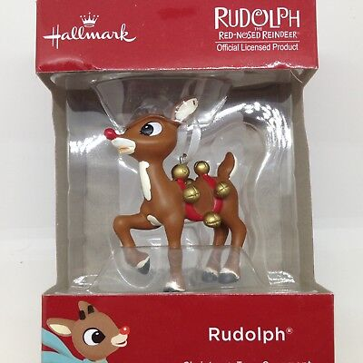 Hallmark RUDOLPH THE RED NOSED REINDEER Christmas Tree ORNAMENT New in Gift Box