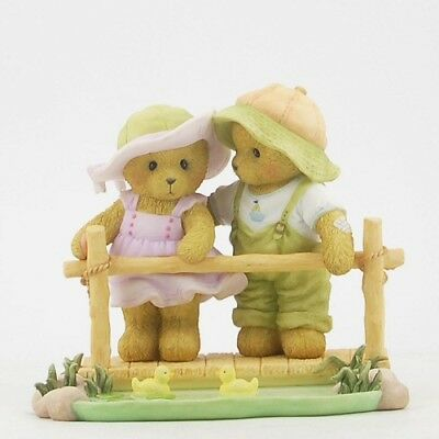 Cherished Teddies Next To You Is The Most Perfect Place Bear Figurine CT1303 New