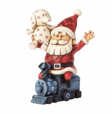 Jim Shore Rudolph Traditions Santa with Misfits Toys Christmas Figurine 4058342