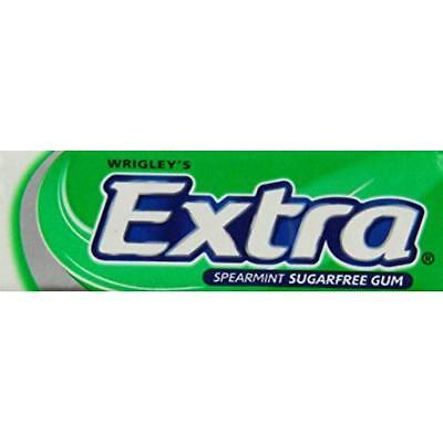 Wrigleys Extra Spearmint Sugarfree Chewing Gum 10 Pellets (Pack of 30, Total 300