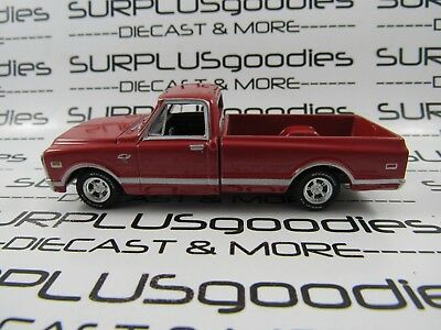 Greenlight 1:64 Scale LOOSE Collectible Red 1968 CHEVROLET C-10 Pickup Truck