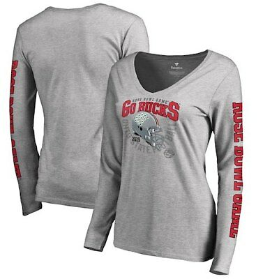 Ohio State Buckeyes Fanatics Branded Women's 2019 Rose Bowl Bound Cover Long