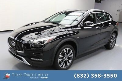 2017 Infiniti QX30 Premium Texas Direct Auto 2017 Premium Used Turbo 2L I4 16V Automatic AWD SUV Bose