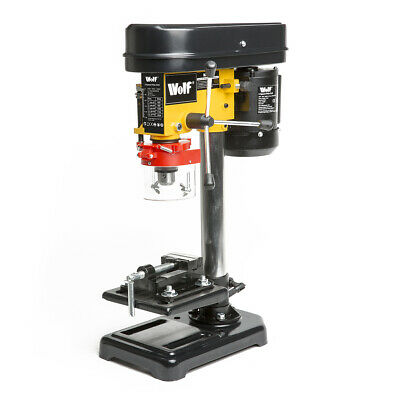 5 Speed Pillar Drill 13mm Chuck 350w Motor Press Bench Top Mounted Drilling