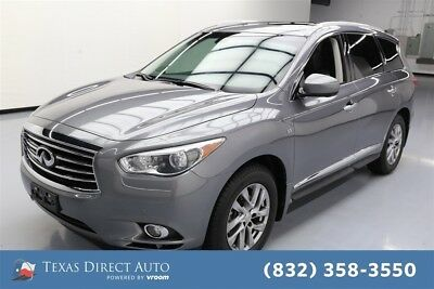 2015 Infiniti QX60  Texas Direct Auto 2015 Used 3.5L V6 24V Automatic FWD SUV Premium Moonroof