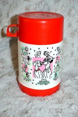 Disney's 101 Dalmations Thermos w/Lid Nice Condition TAIWAN
