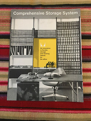 VTG Original Herman Miller Comprehensive Storage System Catalog Insert 50s 60s