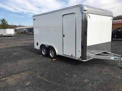 8'.5 x 14' ALL ALUMINUM ENCLOSED, CAR, SIDE BY SIDE ,UTILITY, W/7000 LBS GVW