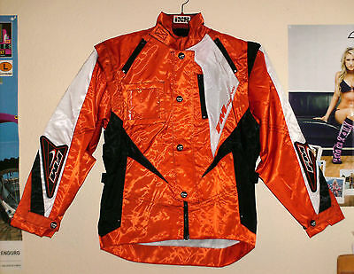 FM Racing X14 Endurojacke MX Jacke KTM Optik Orange Cross EXC SXF UFO M Sinisalo