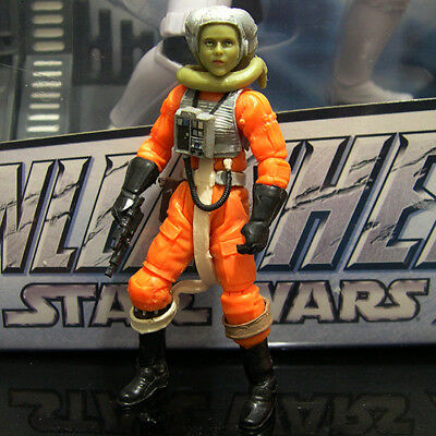 """STAR WARS legacy collection CESI DOC EIRRISS 3.75"""" rogue squad rebel pilot"""