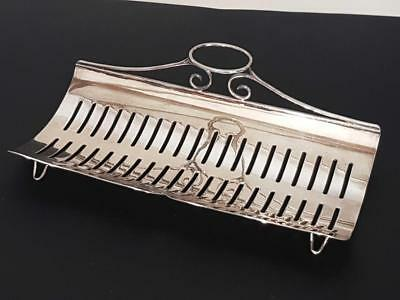 Beautiful Vintage Silver Plated Asparagus Serving Dish