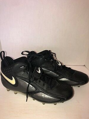 5d1a87bbf Arizona Cardinals Game Worn Used Football Shoes Cleats Nike Black Men's  Size 13