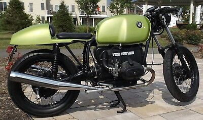 1978 BMW R-Series  1978 BMW Custom Cafe Boxer R60/7 FULLY RESTORED - Clean Title, Unique, 1 of 1