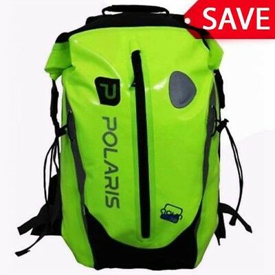 0fd3ca9d01b6 Polaris Aquanought High Visibility Waterproof Backpack Rucksack Cycling 30L
