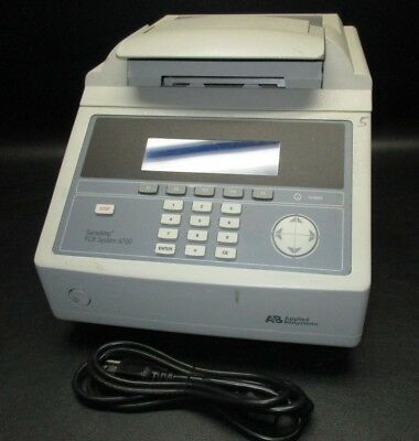 APPLIED BIOSYSTEMS GeneAmp PCR System 9700 Thermal Cycler N8050200