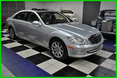2007 Mercedes-Benz S-Class S550 - 63K MILES - CARFAX CERT - DEALER MAINTAINED 2007 S550 - FLORIDA GARAGE KEPT - ABSOLUTELY PRISTINE