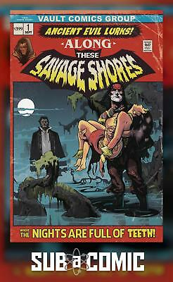 THESE SAVAGE SHORES #1 (VAULT 2018 2nd Print) COMIC