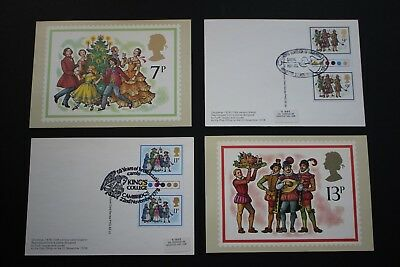 GB QEII Stamps 1978 Commemorative PHQ Cards TRAFFIC LIGHT GUTTER PAIRS used