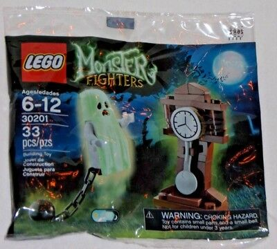 LEGO new PROMO POLYBAG Baggie set 30201 MONSTER FIGHTERS Glow Dark Ghost Haunted