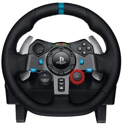 Logitech G29 Gaming Racing Wheel & Pedals For PC & PS4 New outer box cosmetics