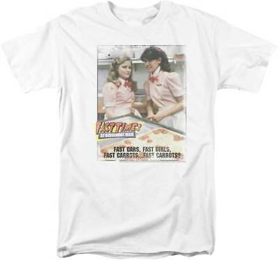 Fast Times At Ridgemont High Fast Cars Fast Girls Fast Carrots Adult T Shirt