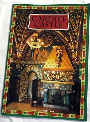 Cardiff Castle in Wales, United Kingdom by Matthew Williams Travel Booklet