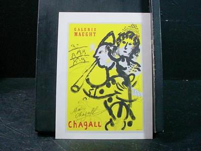 NobleSpirit NO RESERVE {3970}Vintage Print Signed by Marc Chagall
