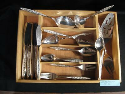 International 1847 Rogers Bros. Esperanto Silverplate Flatware - 50 Pcs. - 1967
