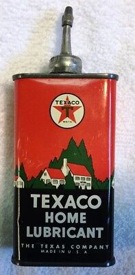 Texaco Home Lubricant Handy Oil Oiler Tin, The Texas Company