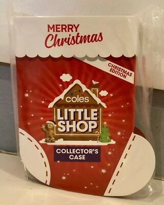 Coles Little Shop Mini Collectables CHRISTMAS Edition CASE - Brand New Sealed