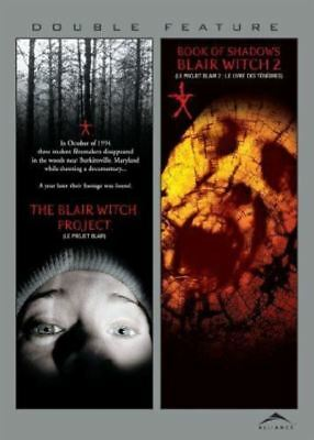 The Blair Witch Project + 2 Book of Shadows 1 2 Region 1 DVD New