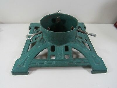 Green Cast Iron Christmas Tree Stand
