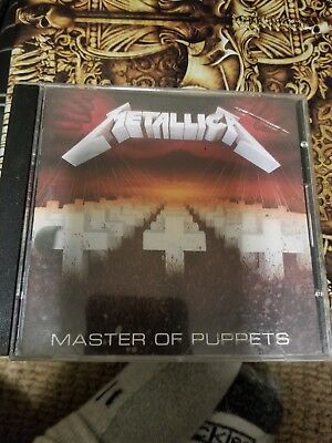 Master of Puppets by Metallica (CD, Sep-2013, Blackened
