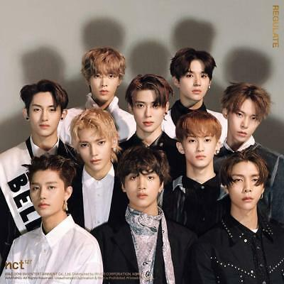NCT 127 NCT #127 Regulate [Random ver.] (Vol.1 Repackage) CD+Booklet+Photocard